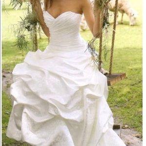 Mikaella wedding dress